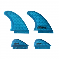Quad Wakesurf Fin Set