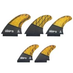 Tri Quad 5 Fin Set - Medium