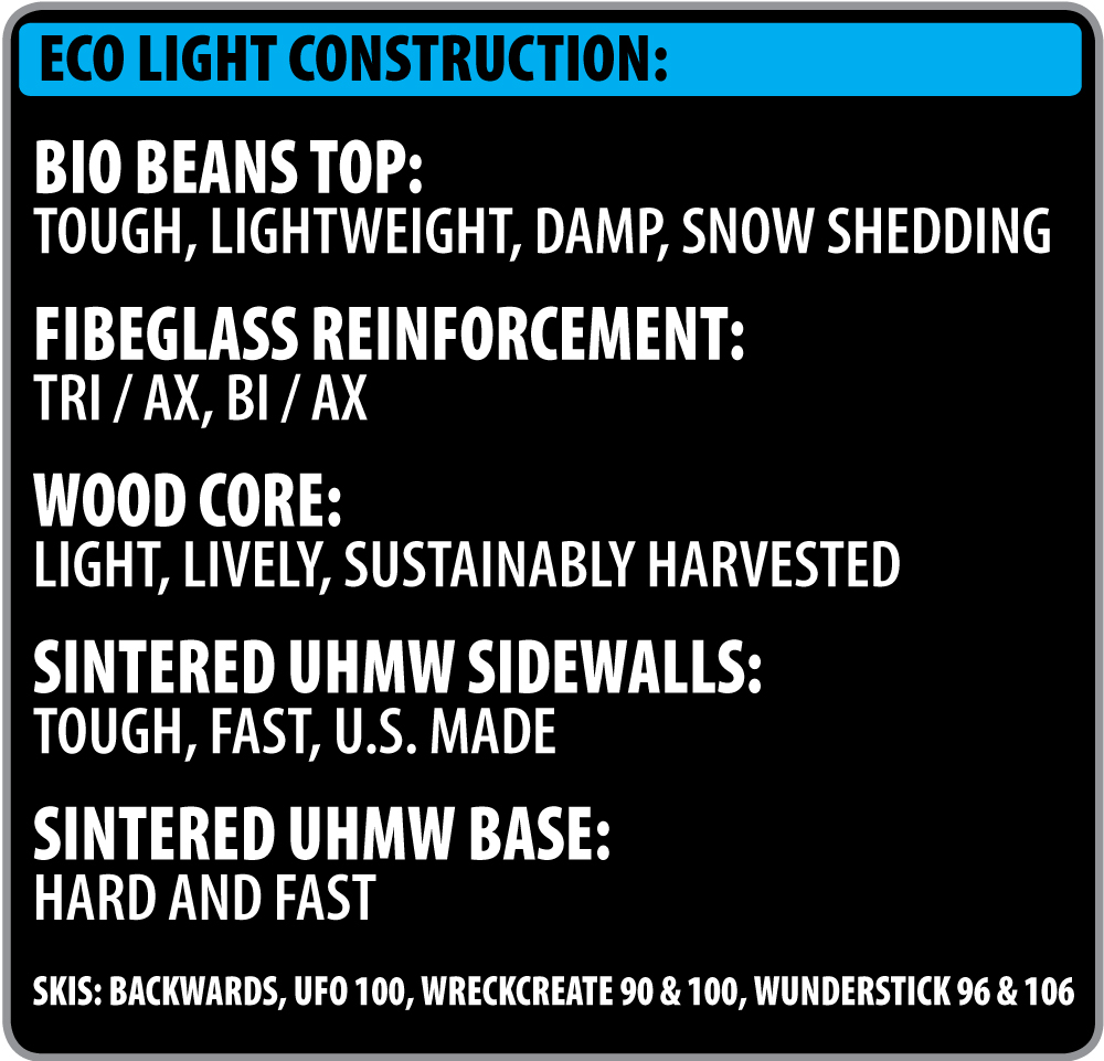 Lib Tech Ski Eco Light Construction