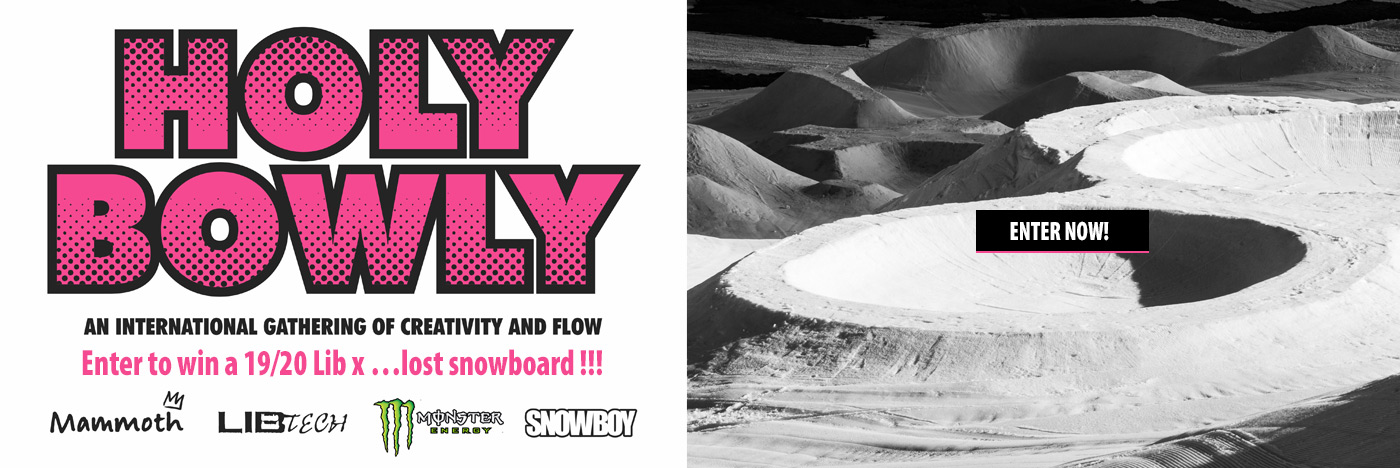 Enter to Win a Lib Tech x ...Lost snowboard - Holy Bowly