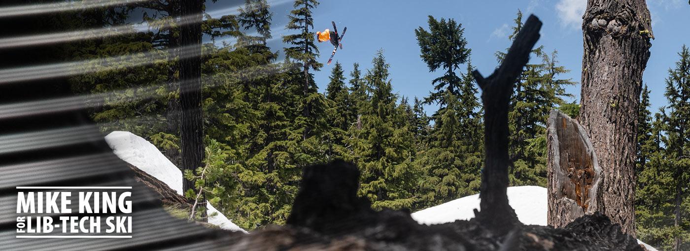 Mike King for Lib Tech Ski