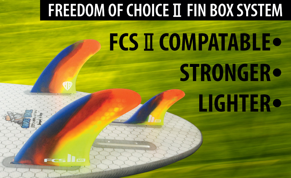 Lib Tech Surf fin box system