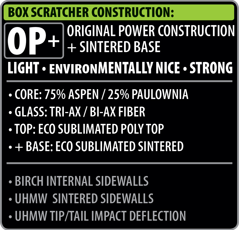 Lib Tech Box Scratcher Construction