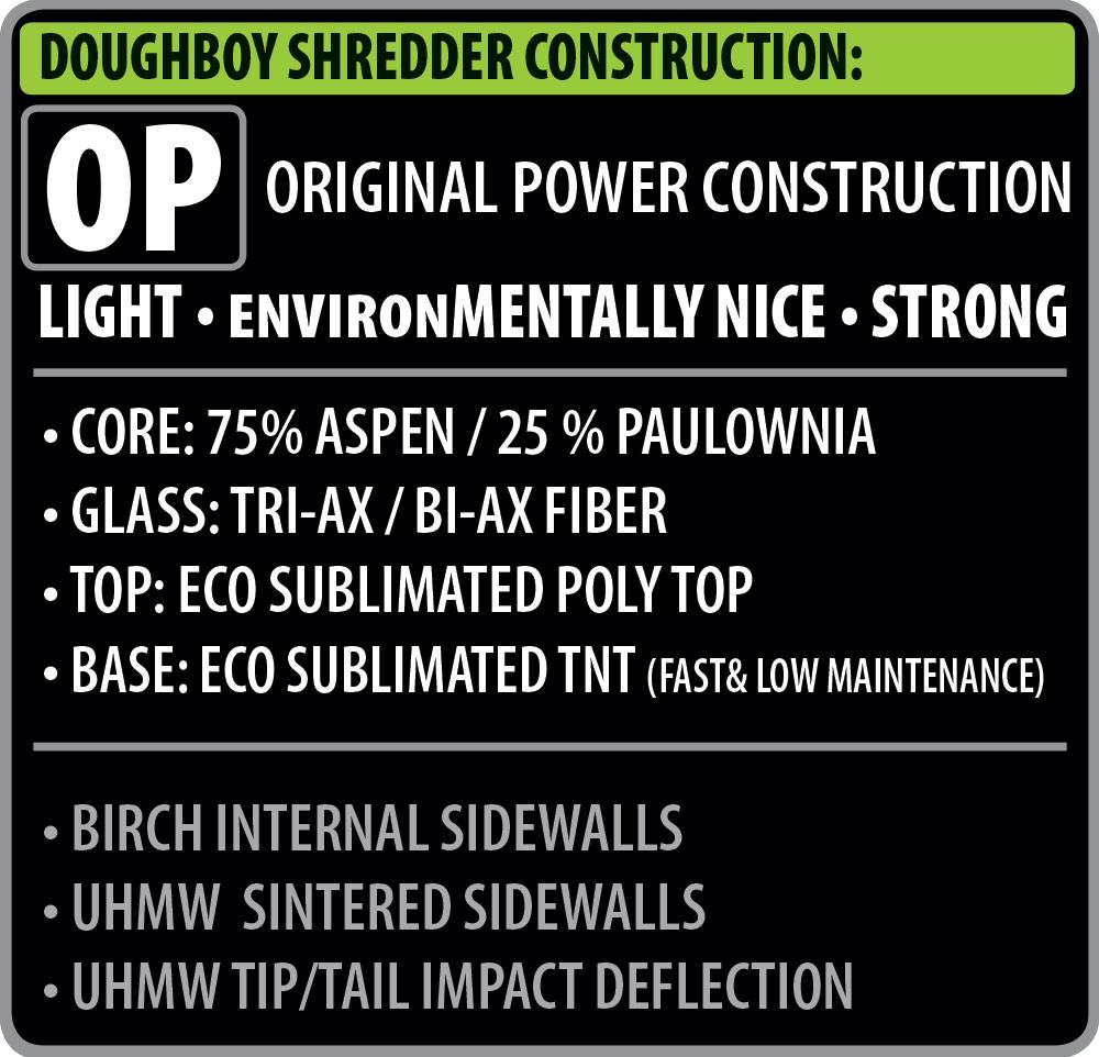 Dough Boy Shredder Construction
