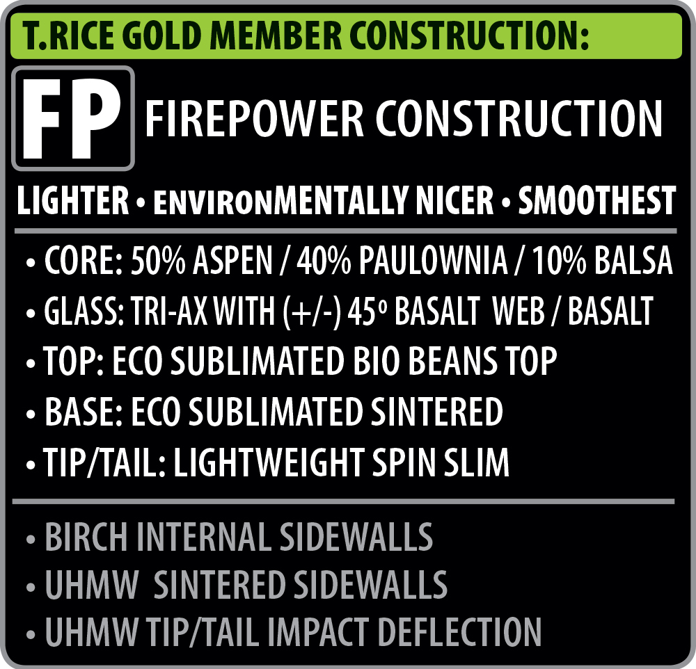 T Rice Gold Member Construction