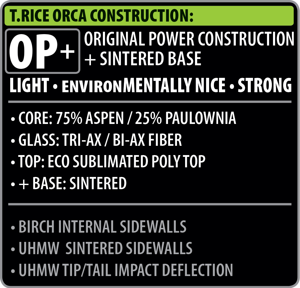 T Rice Orca Construction