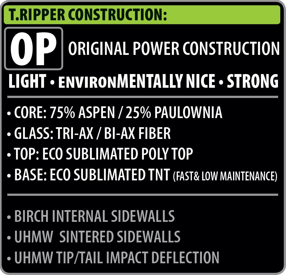 T Ripper Construction