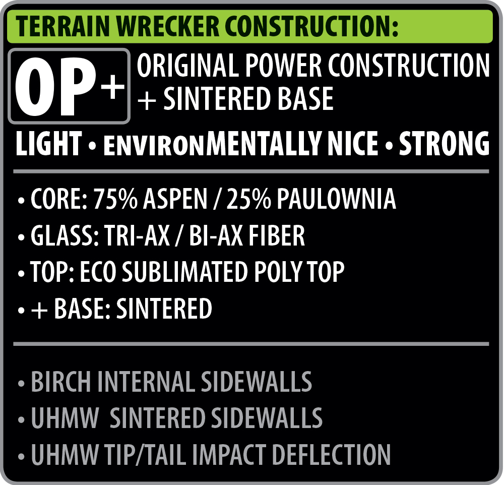 Lib Tech Terrain Wrecker Construction