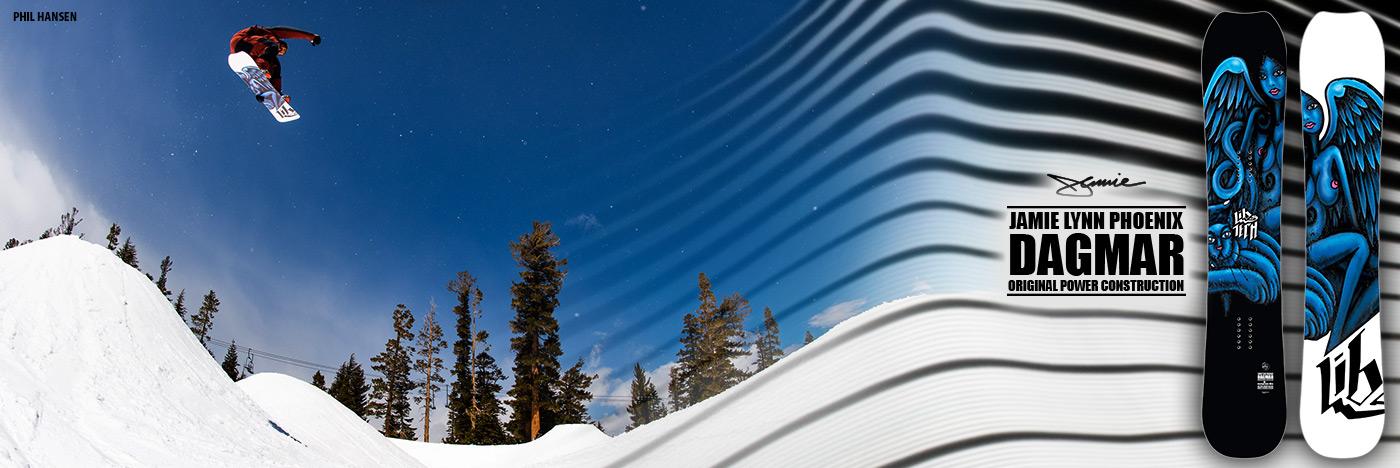 Lib Tech Snowboards Dagmar snowboard by Jamie Lynn