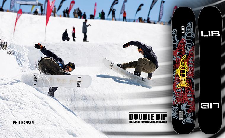 Lib Tech Double Dip snowboard