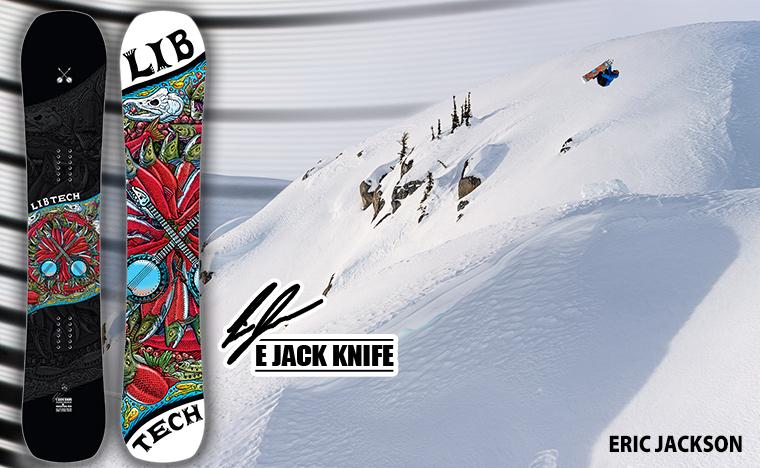 Ejack Knife snowboard by Lib Tech snowboards