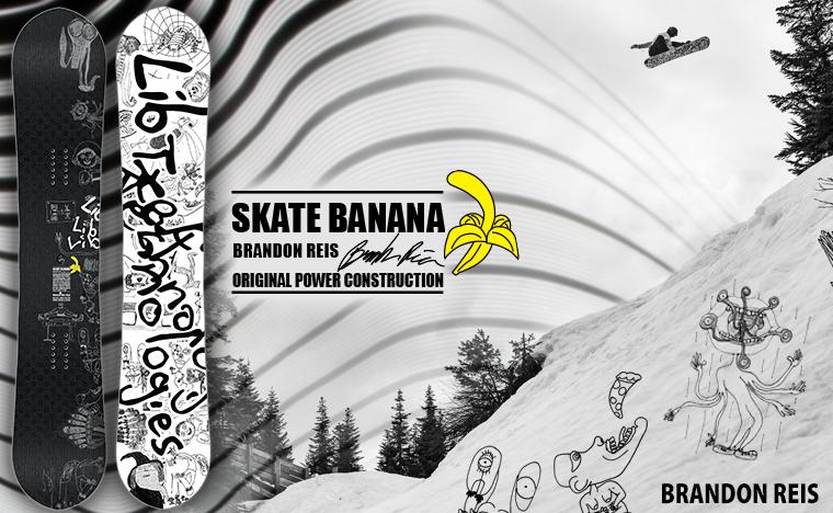 Brandon Reis Lib Tech Skate Banana snowboard