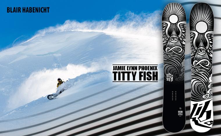 Titty Fish Snowboard