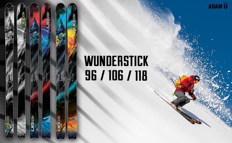 Lib Tech Ski Wunderstick series