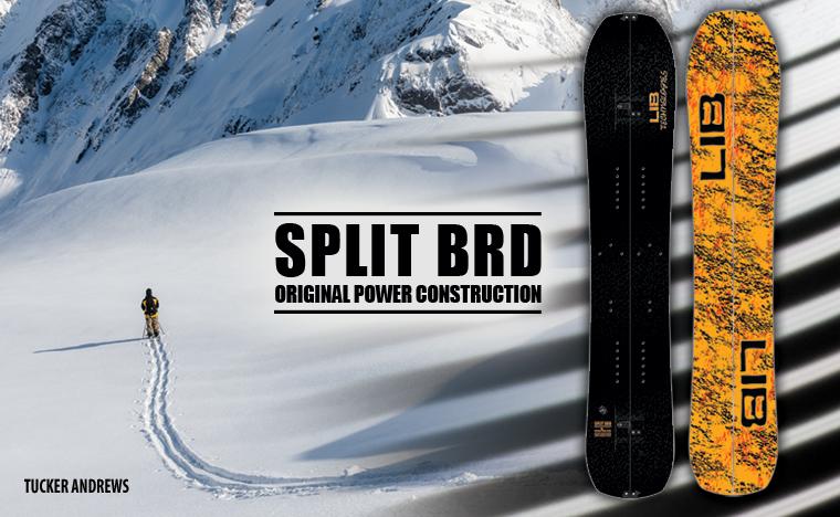 Lib Tech Split BRD Splitboard Snowboard