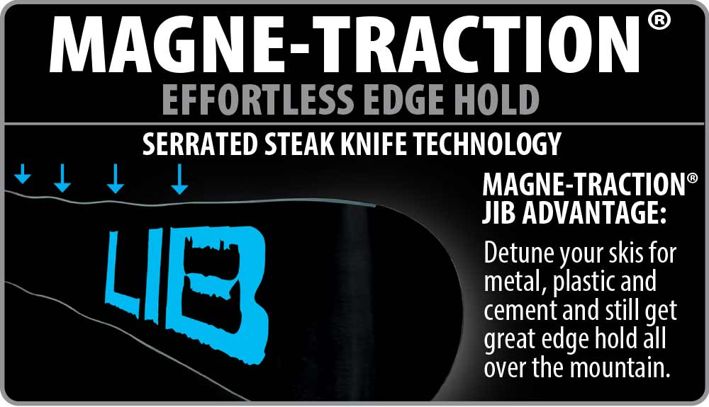 Lib Tech Ski Magne-Traction Technology
