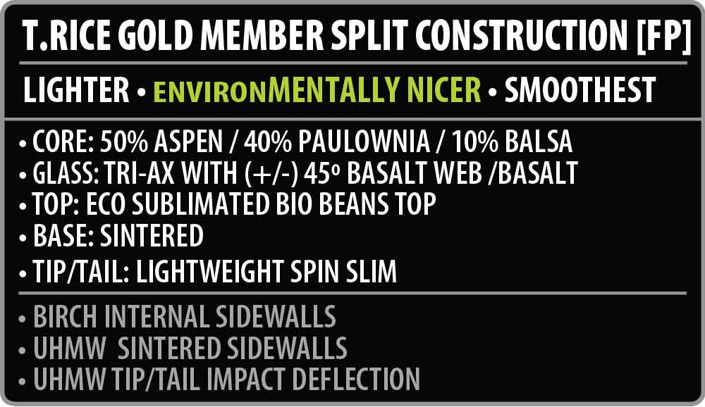 Gold Member Split Construction
