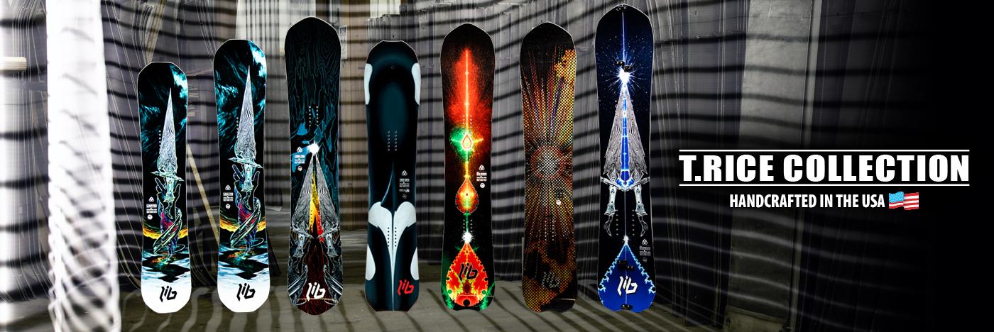 Lib Tech Travis Rice Snowboard Collection
