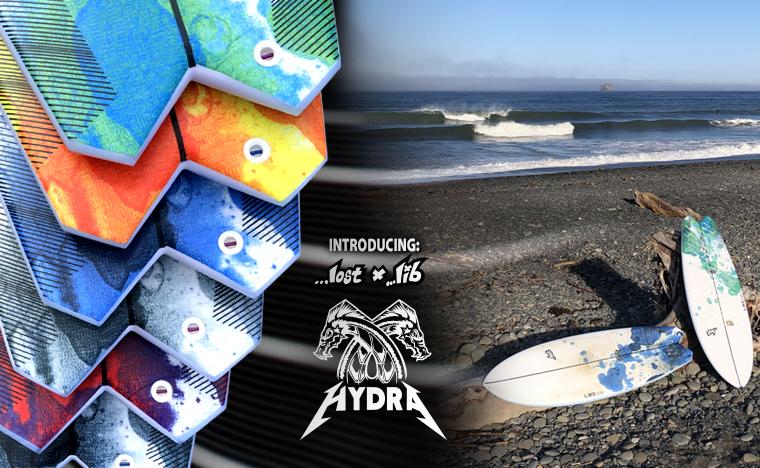 LIB X LOST HYDRA surfboard