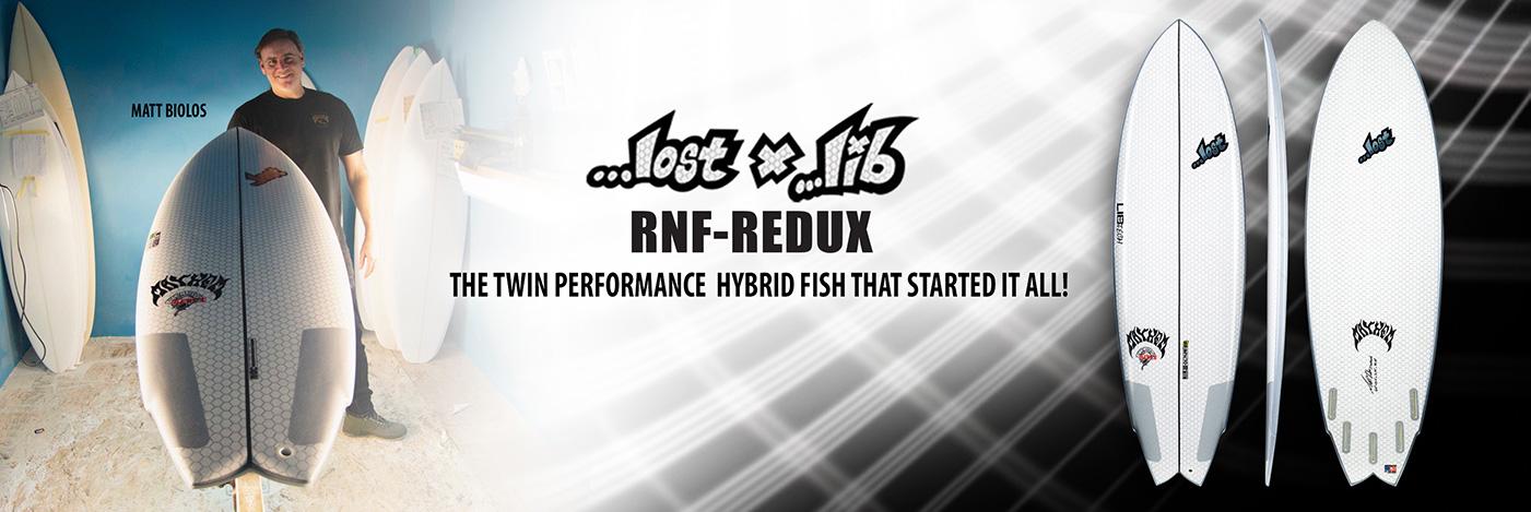 Lib Tech Lost RNF-Redux Round Nose Fish Redux