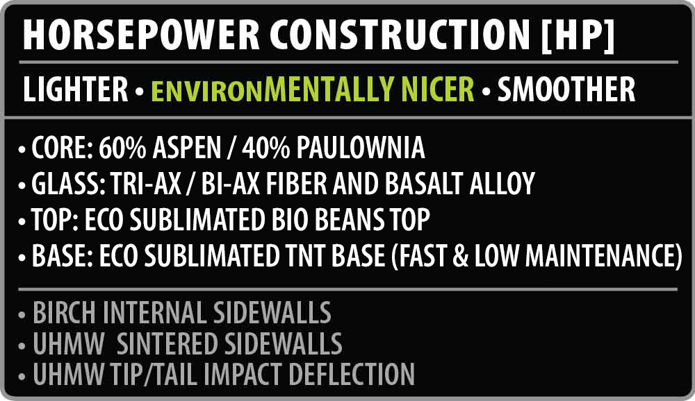 Stump Ape Snowboard Construction