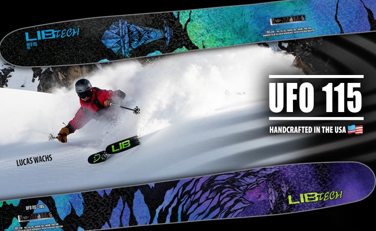 Lib Tech UFO 115 Men's Skis