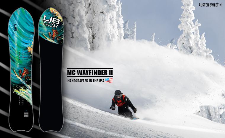Lib Tech Wayfinder II snowboard by Matt Cummins