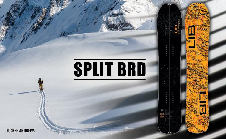Lib Tech Split BRD Splitboard