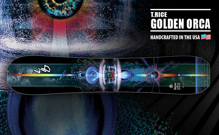 Lib Tech Travis Rice Golden Orca Snowboard
