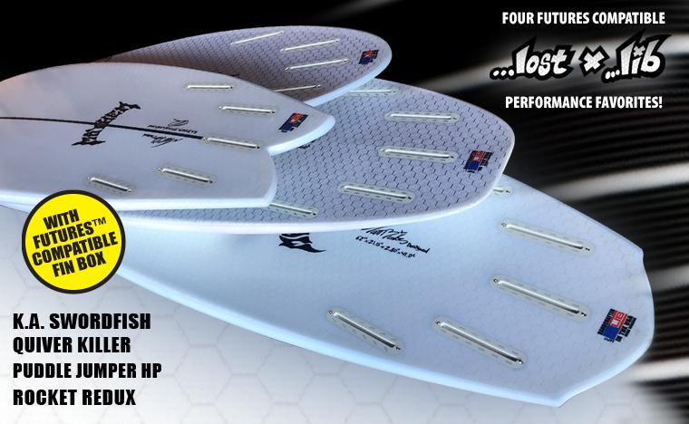 Lib Tech Futures Fin Compatible Surfboards