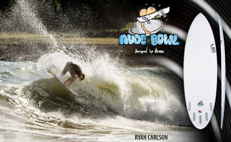 Lib Tech Nude Bowl Surfboard