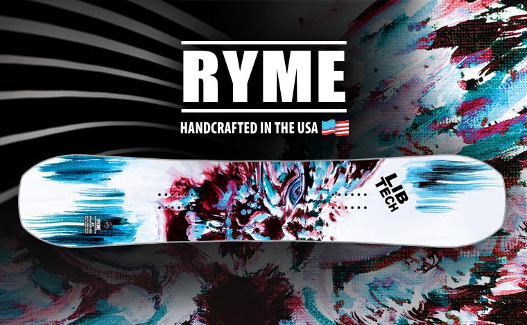Lib Tech Ryme Womens Snowboard