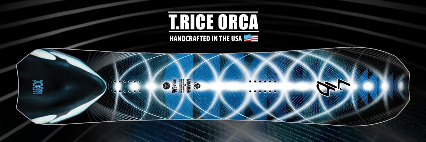 Lib Tech Orca Snowboard by Travis Rice