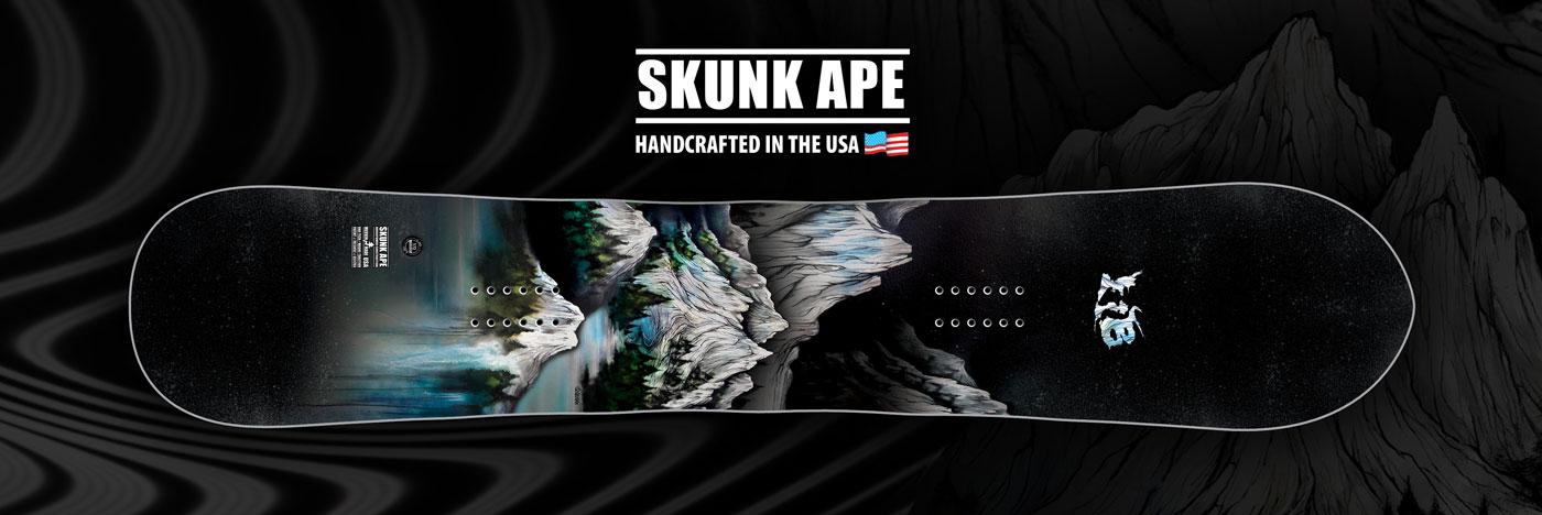 Lib Tech Skunk Ape Wide Snowboard for wide feet