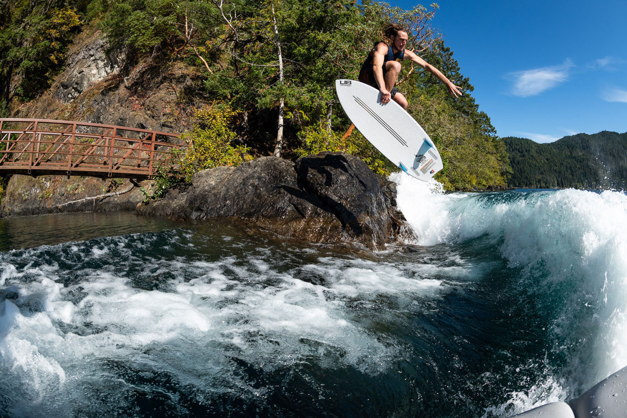 Lib Tech Wakesurf Aaron Witherell