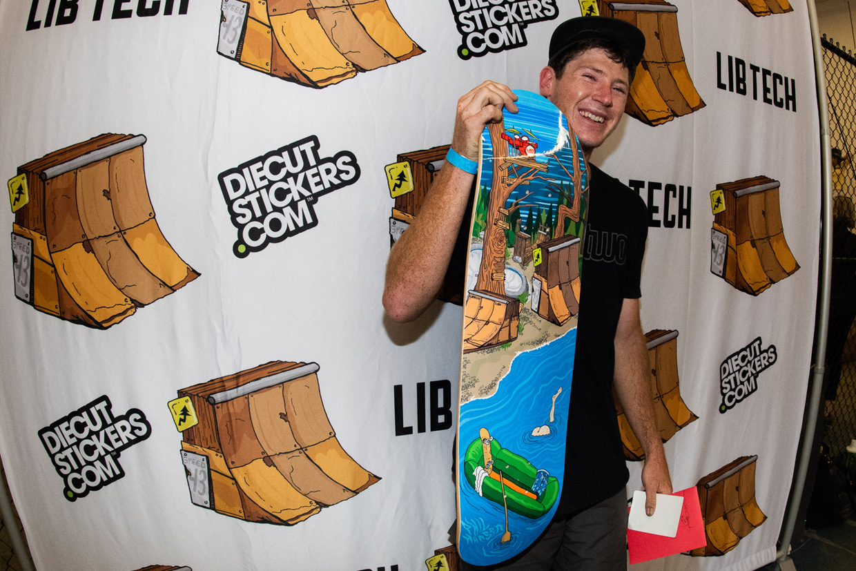 Lib Tech Skate Ripper Phil Hansen