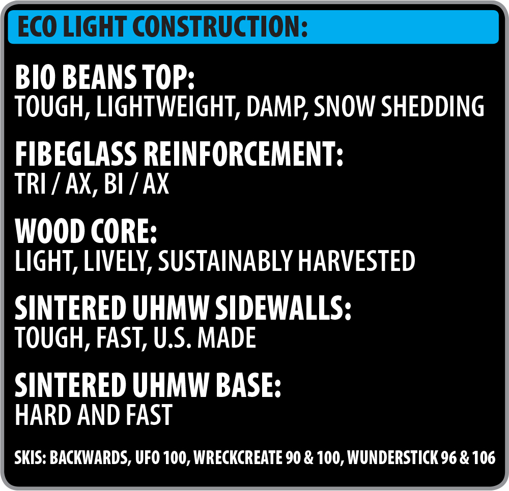 Lib Tech Ski Eco-Light Construction