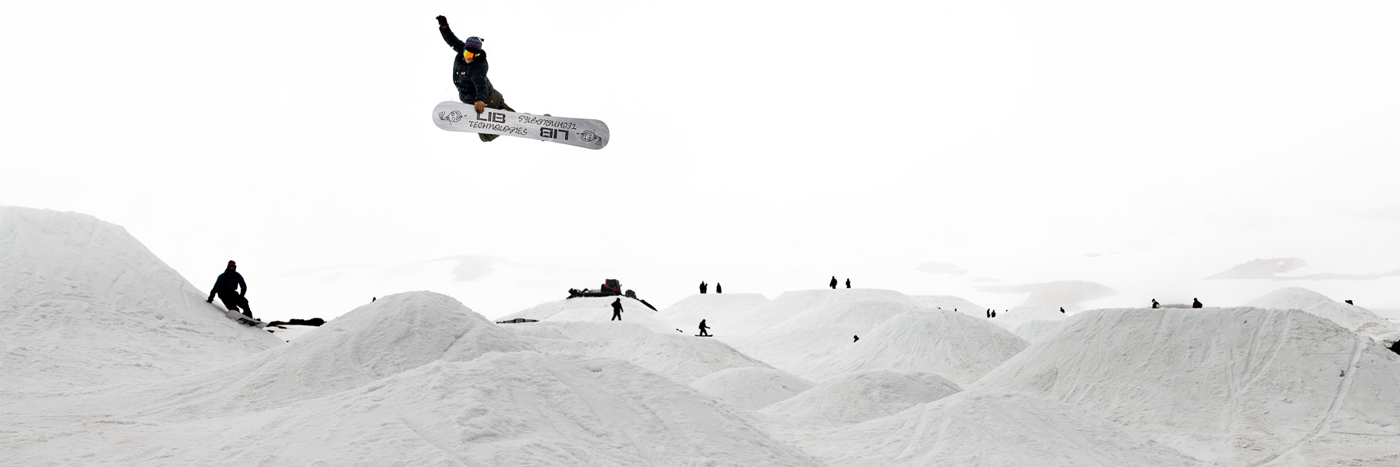 Lib Tech Snowboards Austen Sweetin at Holy Bowly