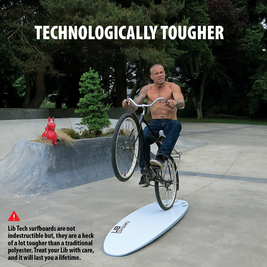 Lib Tech Surf Technologically Tougher