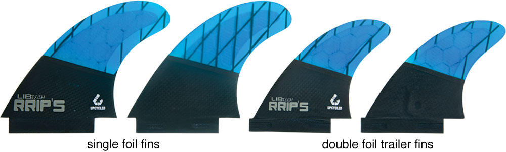 Lib Tech Fins Quad Set