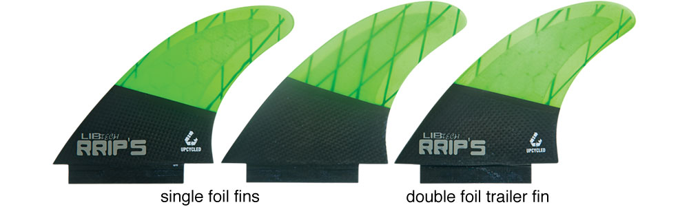 Lib Tech Fins Tri Fin Set Large