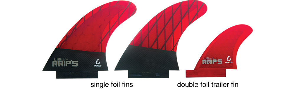 Lib Tech Fins Twin + Trailer