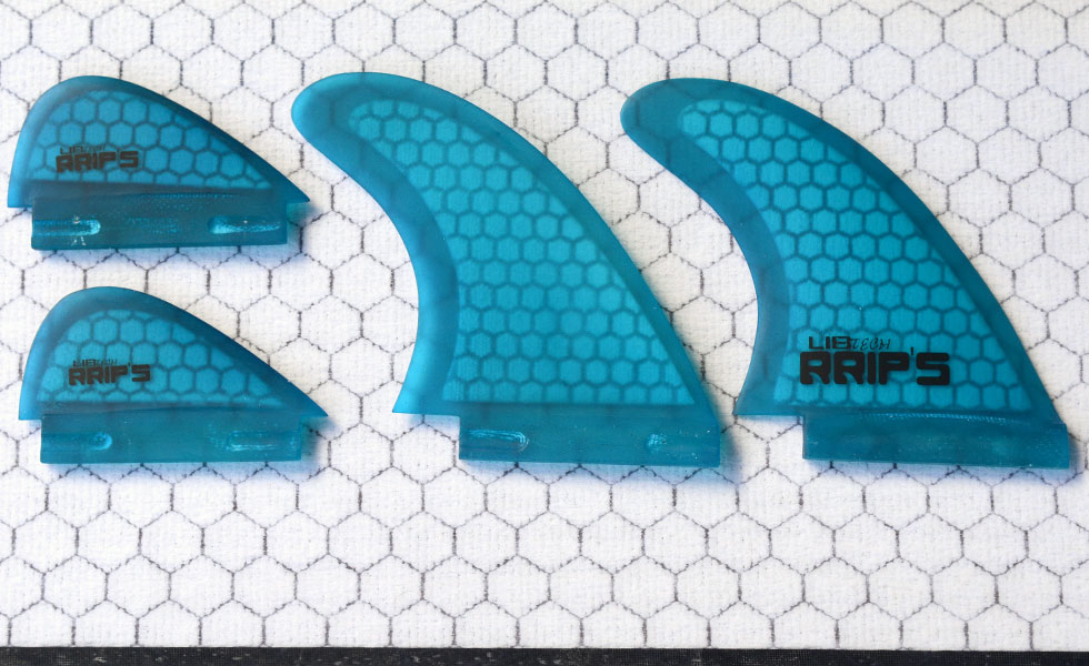 Lib Tech Wakesurf board fins