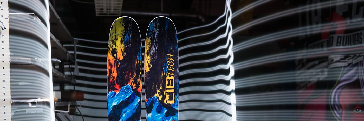 Lib Tech Ski Technology