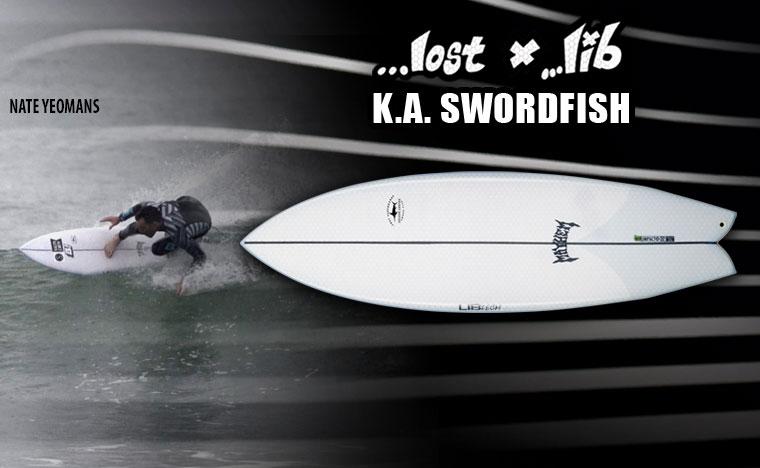 Lib Tech Surf KA Swordfish Surfboard