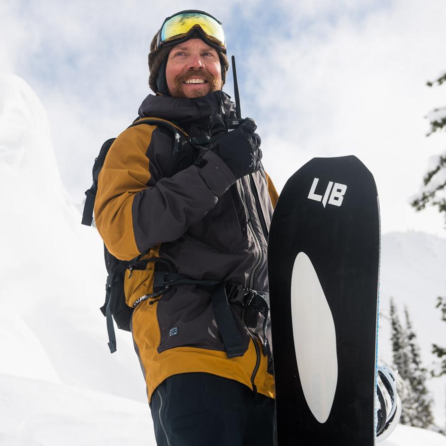 Lib Tech Snowboard Team Travis Rice