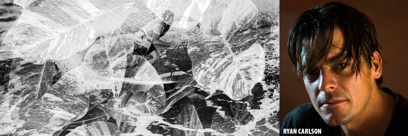 Ryan Carlson on the Lib Tech Surf Ringer