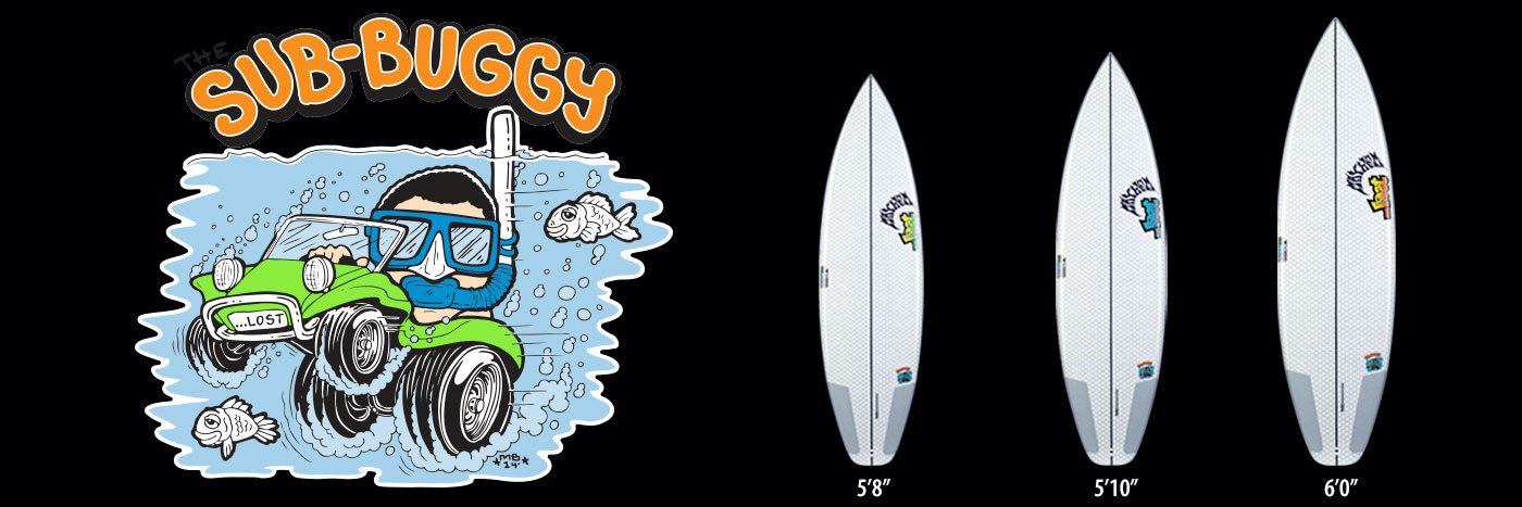 Lib Tech X Lost Sub Buggy surfboard line