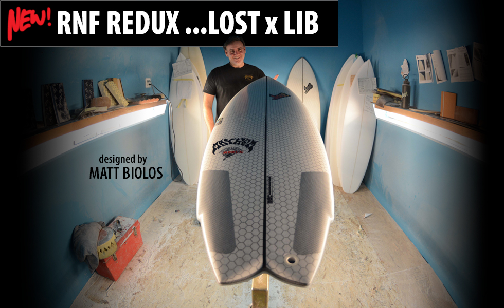 Lib X Lost Round Nose Fish Matt Biolos