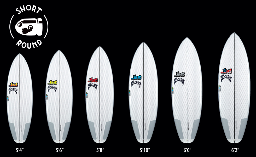 Lib Tech X Lost Short Round surfboard line